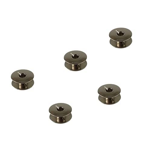 Pack de 5 Canillas para Máquinas de Coser Alfa, Alfamatic, Rotomatic y Alfa Eibar y Electronic Metálicas - La Canilla