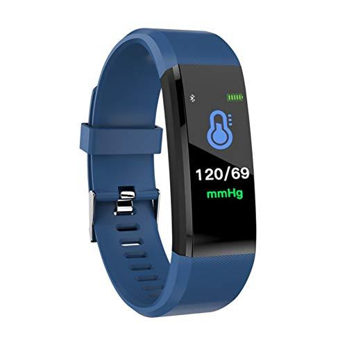 Pulsera Actividad Reloj Inteligente Fitness Tracker Podómetro Monitor de Sueño Contador de Calorías Pasos Rastreador de Ejercicios Reloj Salud Pulsera Deportiva para Niños Mujeres Hombres