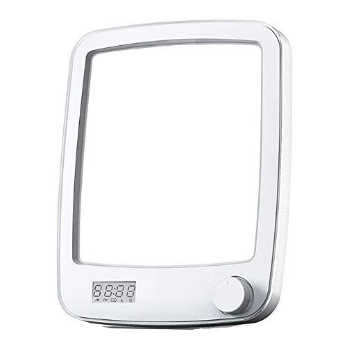Lámpara Terapéutica 10000 Lux Sin UV Lámpara de luz Diurna Natural USB Portátil LED Lampara Luminoterapia 20 Niveles de Brillo y Temporizador de 60 min para el Trastorno Afectivo