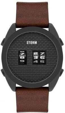 Storm London Kombi Slate Leather Brown 47415/SL/BR Montre-Bracelet pour Hommes