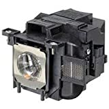 Replacement for Epson V11h621020 Lamp & Housing Projector Tv Lamp Bulb by Technical Precision