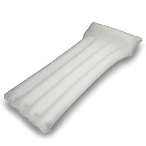 entroserv.de Komfort-Luftbett/Luftmatratze mit 5 Luftkammern inkl. Kopfkissen, Material: TPU
