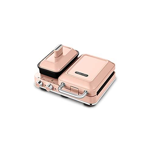 Tostadoras Máquina de Desayuno Multifuncional máquina de sándwich Ligera pequeña máquina de Hacer gofres para el hogar Prensa de Tostadas Inteligente