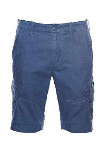 Superdry Mens CORE Cargo Shorts, Midnight Navy, 36