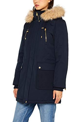 ESPRIT Damen 099Ee1G011 Parka, Blau (Navy 400), Medium (Herstellergröße: M)