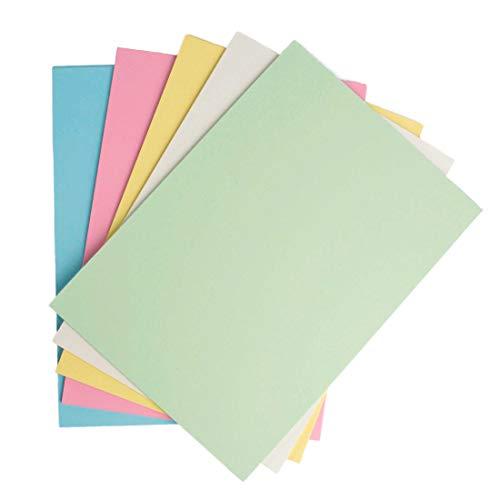 A4 160gsm tarjeta amarilla Pastel 25 Hojas Cardmaking Craft papelería de alta calidad
