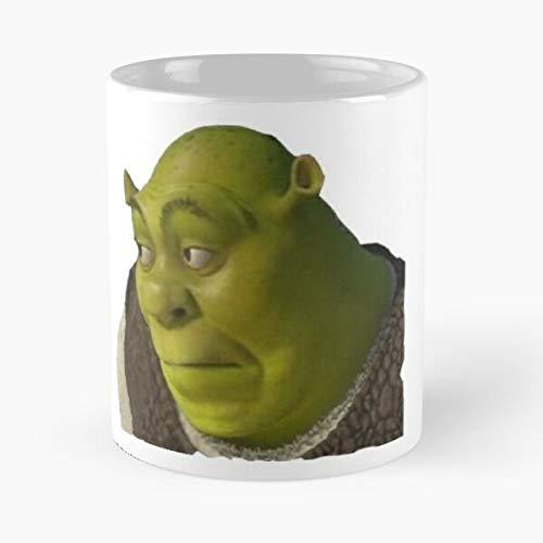 Desconocido Meme Your Thing Movie Find Memes Movies Shrek Taza de café con Leche 11 oz