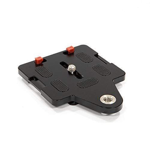 SIRUI AM-LP70 Schnellwechselplatte mit Gewinde für Kameragurt, Sliding Stopper, Arca Swiss kompatibel