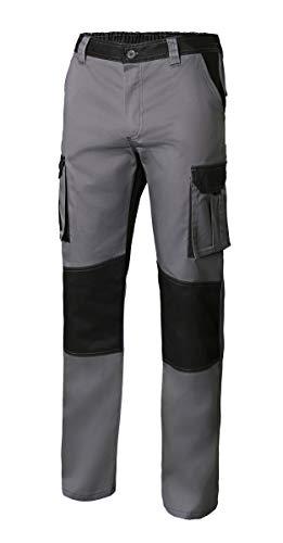 Velilla 103020B 8/0 - GRIS/NEGRO 46 - Pantalón bicolor multibolsillos Gris Talla 46