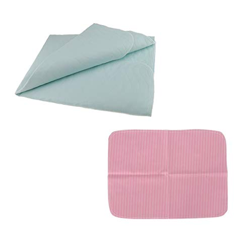 24X35 Washable Waterproof Urine Pads Incontinence Bed Diaper Changing Mat Mattress Sheet Protector Beige Absorbency Hosptial Pee Pads Quilt Underpad Sheet for Baby Adults