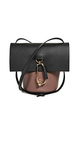 Calfskin Hinged post at front Gold-tone hardware Length: 8.25in / 21cm Patch interior pockets