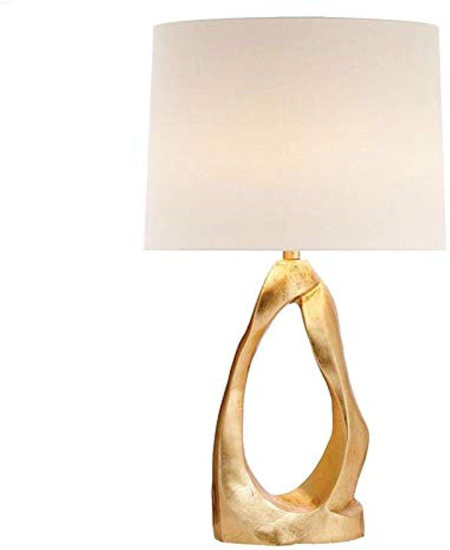 Noble.store Table Lamp Living Room Minimalist Art Designer Desk Lamp Villa Model Room Bedroom Bedside Reading Lamp American 4628 Table lamp