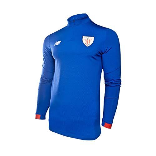 New Balance - Athletic Bilbao Sudadera AZ 19/20 Hombre Color: Azul Royal Talla: 2XL