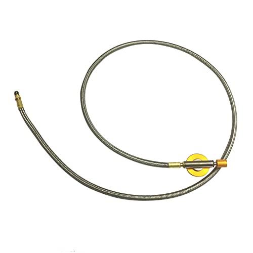 ABOOFAN - Tipo quemador de camping conducto durable universal estufa gas horno manguera pipeta (1 m)