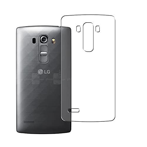 Vaxson 2 Unidades Protector de pantalla Posterior, compatible con LG G4 Beat/LG G4s / H735 / H735DS [No Vidrio Templado] TPU Película Protectora Espalda Skin Cover