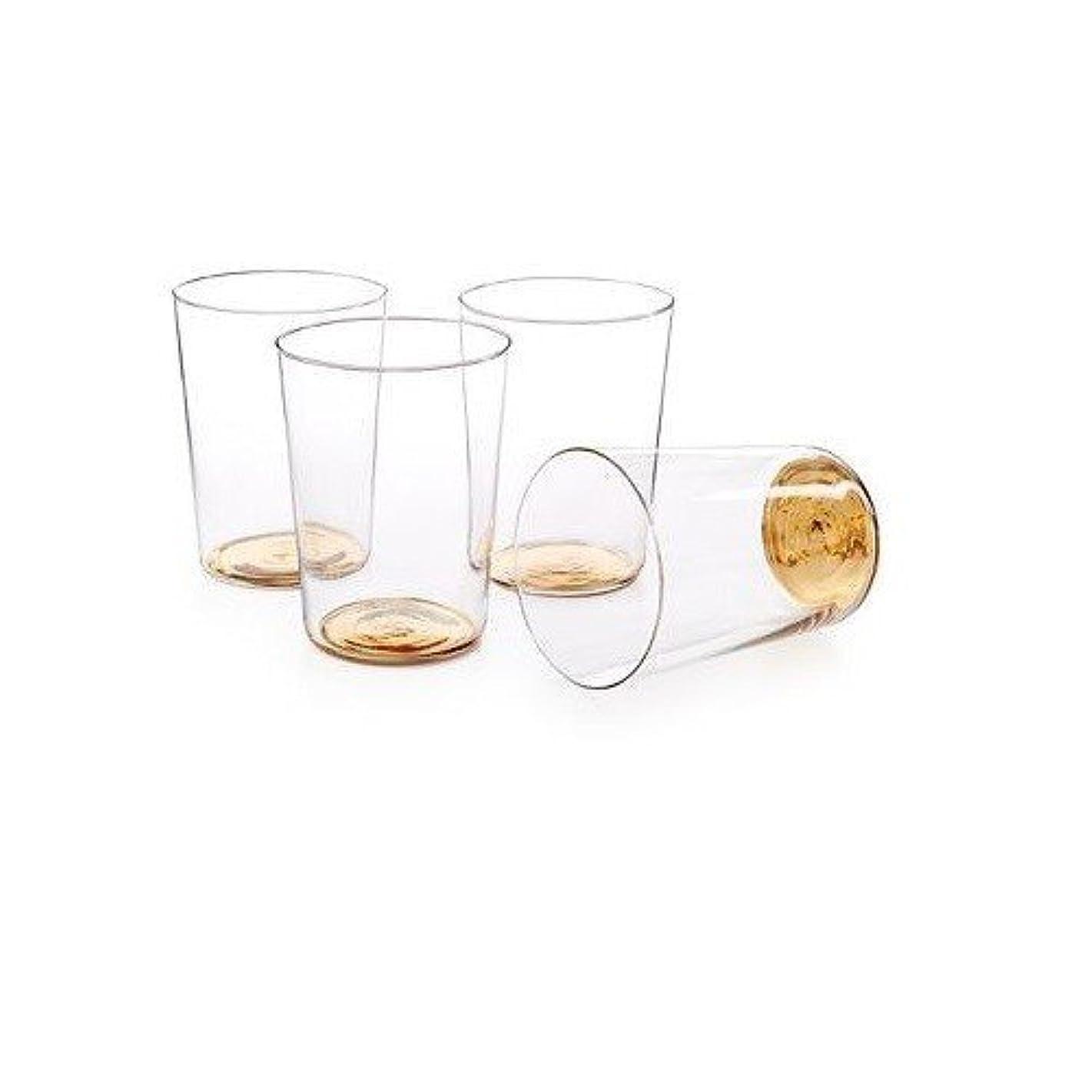 欺く逸脱無限ホテルコレクションゴールドトーン高ボールDrinking Glasses ( Set of 4?)