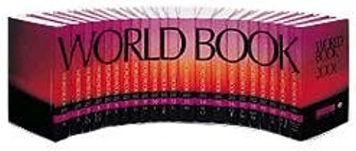 The world book encyclopedia 2001 set (2000, hardcover) for sale.