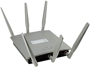 D-Link PoE Access Point AC1750 AirPremier Concurrent Dual Band 2 Gigabit Ethernet LAN Ports Wireless Internet Network WiFi AC AP (DAP-2695)