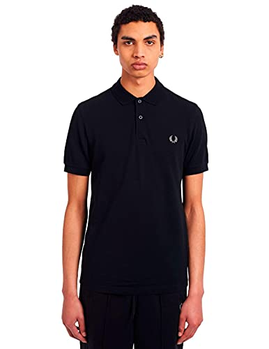 Fred Perry M6000-906 pôle, Multicolore (Black/Chrome), S Homme