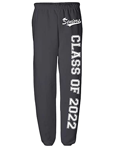 Seniors Class of 2022 Sweatpants Graduation Gifts Logo -Sweatpant-0153-S-Black