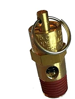 """New 1/4"""" NPT 150 PSI Air Compressor Relief Pressure Safety Valve, Tank Pop Off from Best In USA"""