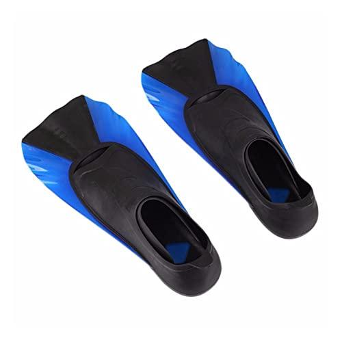 BOJSQ Aletas de Buceo Aletas Cortas para niños Snorkeling Natación de Buceo Entrenamiento Portátil Portátil Zapatos de Rana Corta Natación Aletas de natación Transiner (Color : Red, Size : XXS)