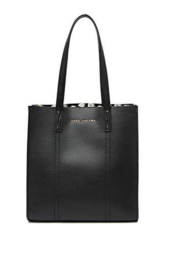 Marc Jacobs Repeat Leather Tote (Black)