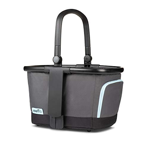 Evenflo Pivot Xpand Stroller Market Basket, Gray Sky