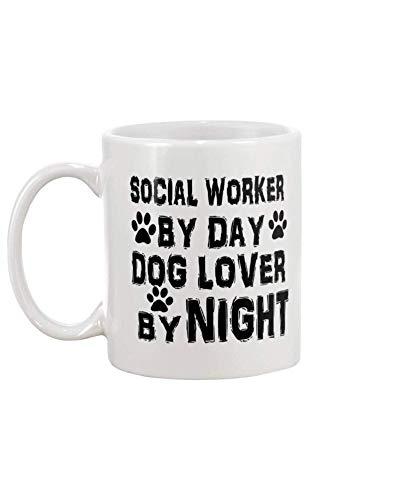 Taza té cerámica uso prolongado Día del trabajador social Taza bebida café Regalo