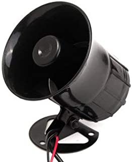 6 Sounds Car Motorcycle Van Truck Electronic Bell Horn Alarm Loudspeaker Siren - Motorcycle Motorcycle Alarm & Security