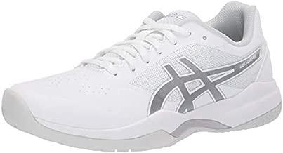 ASICS Women's Gel-Game 7 Tennis Shoes, 9, White/Silver