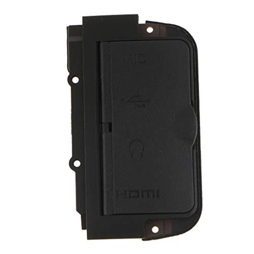 MERIGLARE Tapa Lateral de Goma para Puerta con Micrófono USB para D800 D800E