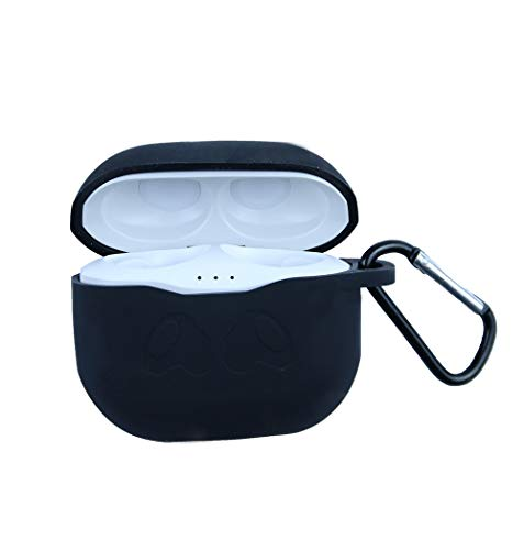 Eyglo siliconen hoesje voor JBL Tune 120 TWS echt draadloze in-ear-koptelefoon beschermhoes antislip waterdichte reistas