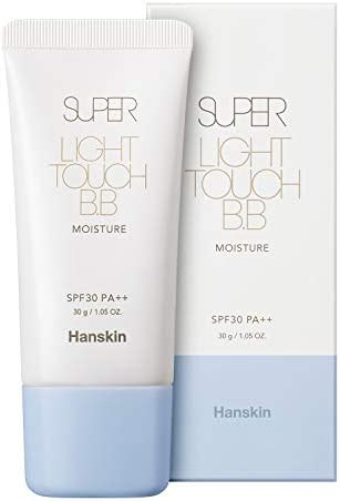 Hanskin Super Light Touch BB Cream with SPF 30 PA Moisturizing Buildable Coverage Tinted Moisturizer product image