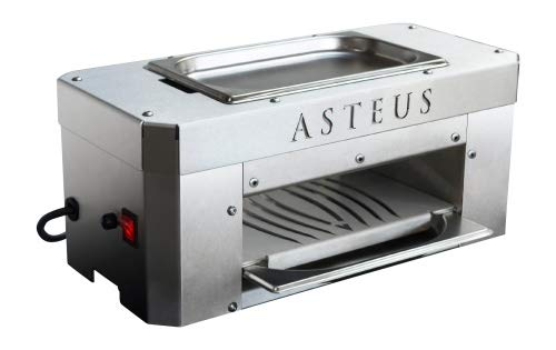 Asteus Candle Light Infrarot Elektro Grill 650 Grad Indoor/Outdoor Edelstahl V2A
