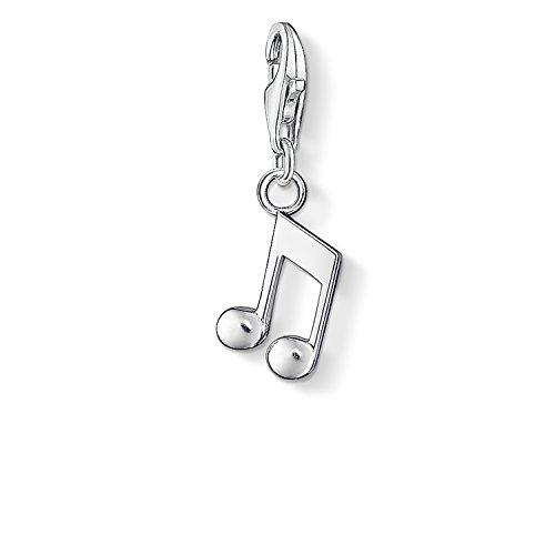 Thomas Sabo Damen-Charm-Anhänger Note Charm Club 925 Sterling Silber 0846-001-12