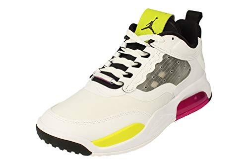 Nike Air Jordan MAX 200 Hombre Trainers CD6105 Sneakers Zapatos (UK 9 US 10 EU 44, White Black Fuchsia 102)