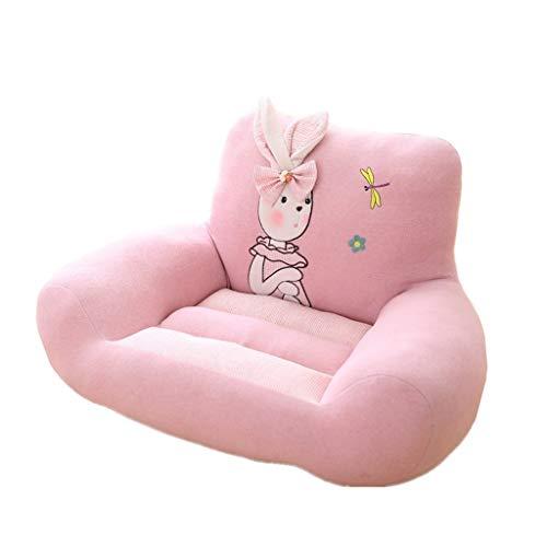 MWY Poltrona Cartone Animato Mini Divano Felpa Bello Sedia for Bambini Mobili for Bambini Poltrona for Divano for Bambini Morbido E Confortevole (Color : Pink)