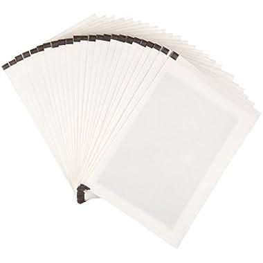 Amazon Basics Paper Shredder Sharpening & Lubricant Sheets – Pack of 24