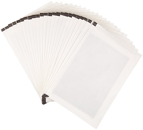 Amazon Basics Lot de 24 feuilles lubrifiantes et aiguisantes pour destructeur de documents