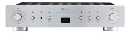 Cheapest Prices! Vincent Audio - SA31 MK Hybrid Stereo Preamplifier - Silver