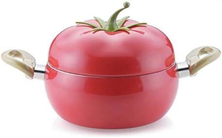 Poêles à frire Fruit Tomate Marmite Frying Pan Pot de cuisson Casserole cuisinière à induction en aluminium batteries de cuisine antiadhésives (Color : Stockpot) Frying Pan
