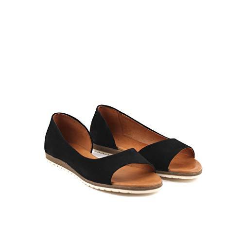 Apple of Eden Celta 1 - Damen Schuhe offene Schuhe - Black, Größe:41 EU