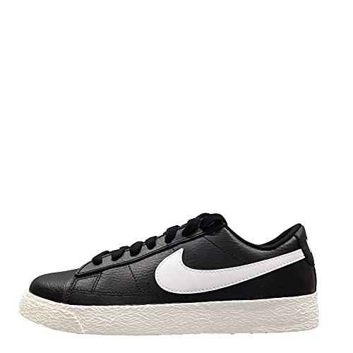 Nike Blazer Low GS Trainers CZ7106 Sneakers Scarpe (UK 3.5 us 4Y EU 36, Black White Sail 001)