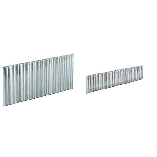 Einhell Set de 3000 clavos para grapadora de aire a presión DTA 25/1 (50 mm) + 4137871 Set de 3000 clavos de 25 mm para DTA 25
