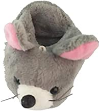 Aayam Design and Solutions Mouse Shape, Grey Color Soft Toy/Pencil Holder Magnet for Fridge and Magnetic memo Boards.