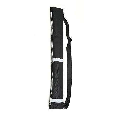 learnarmy Regenschirmhülle, Outdoor Reverse Umbrella-Einkaufstasche Double Reverse Umbrella-Aufbewahrungstasche wasserdichte und staubdichte Regenschirmhülle, 65 x 12 cm, 600D schwarz.