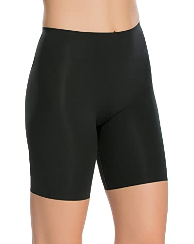 SPANX Shapewear for Women Lightweight Layer Mid-Thigh Shaping Short (Regular and Plus Sizes) Very Black MD One Size