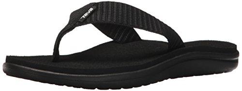 Teva Damen Voya Flip Sandal Womens Pantoffeln, Schwarz (Bar Street Black Bsblc), 41 EU