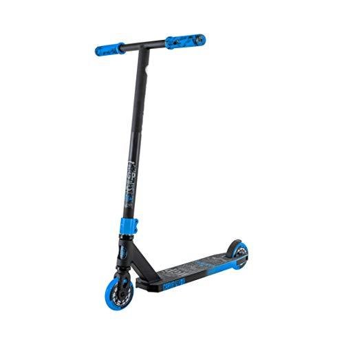 MADD Gear Carve Pro X Freestyle Stunt - Patinete, negro azul